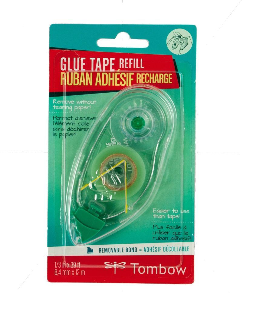 Tombow Non-Permanent Adhesive Runner Refill