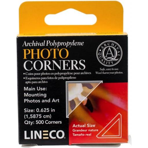 Lineco Clear Archival Mounting Corners