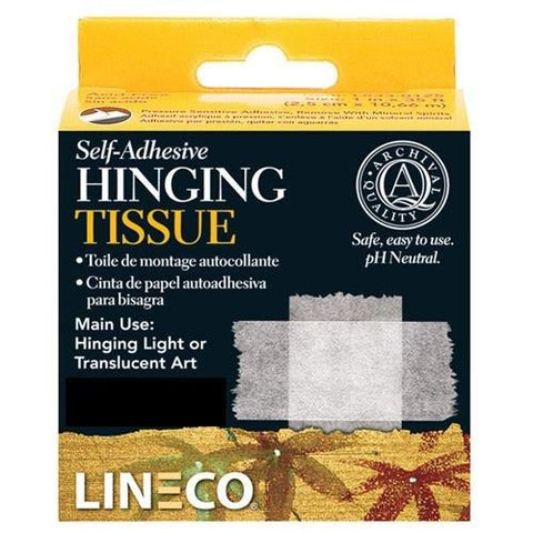 Lineco Self Adhesive Mounting/Hinging Tissue