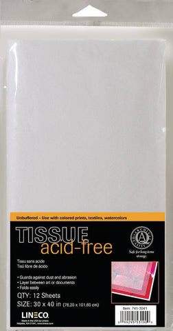Lineco Acid Free Tissue Paper Sheets