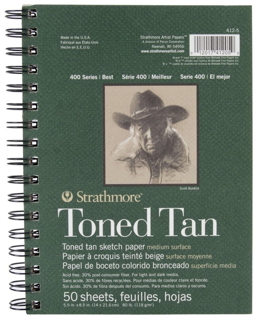 Strathmore Toned Tan Sketch Pads