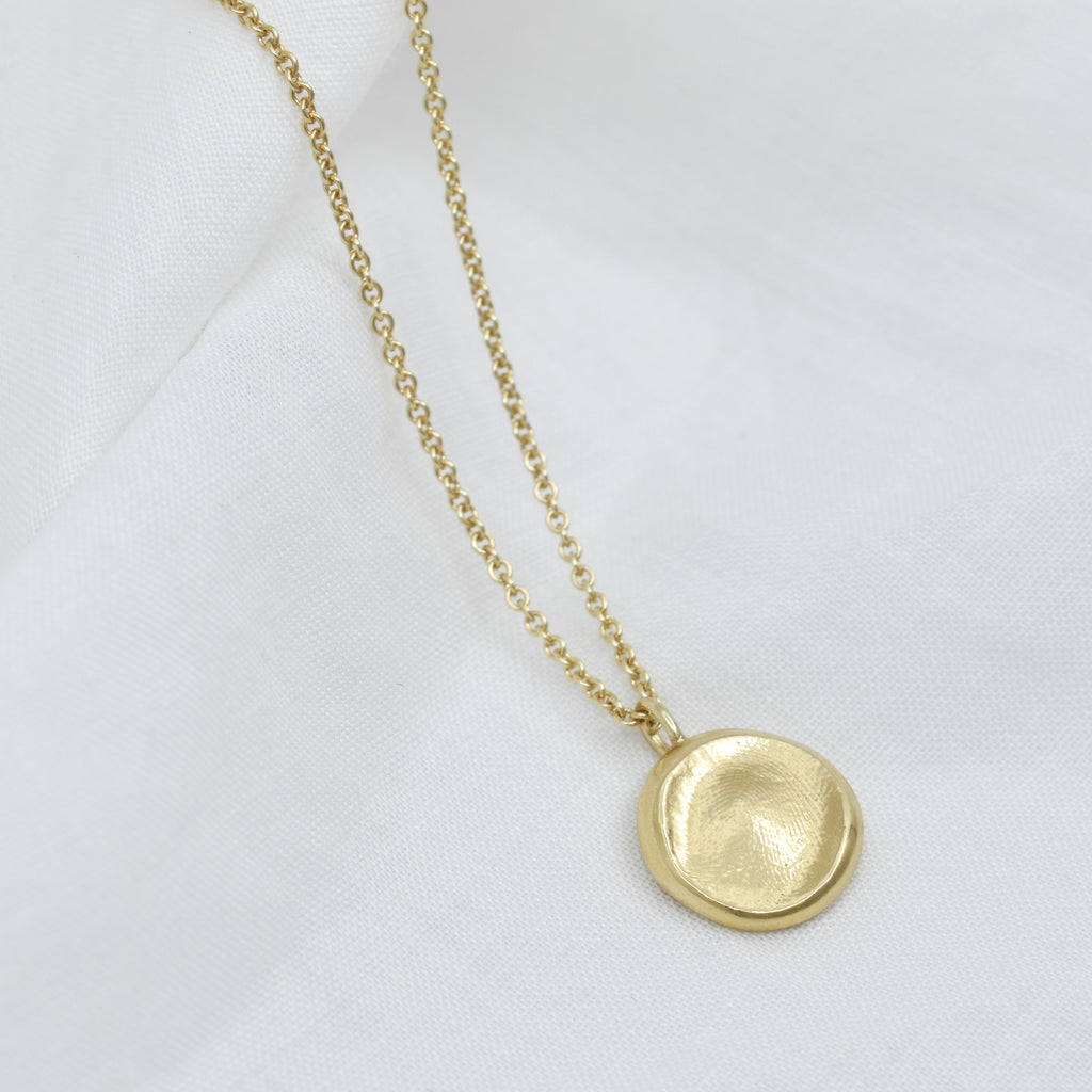 Imprint Necklace | Gold