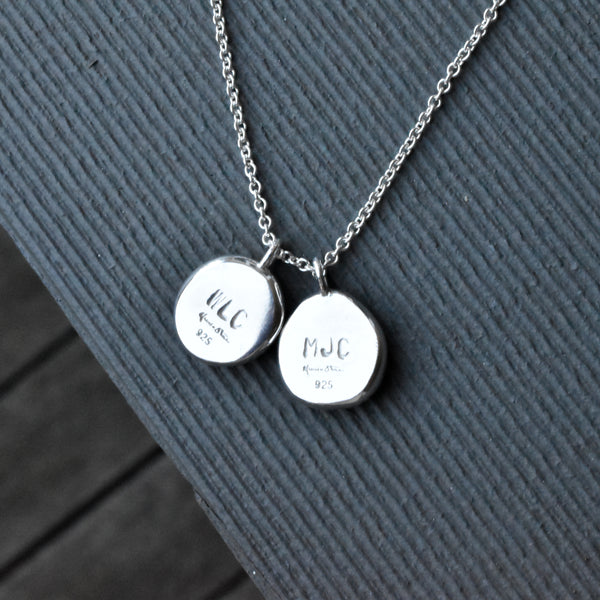 Imprint Necklace | Silver