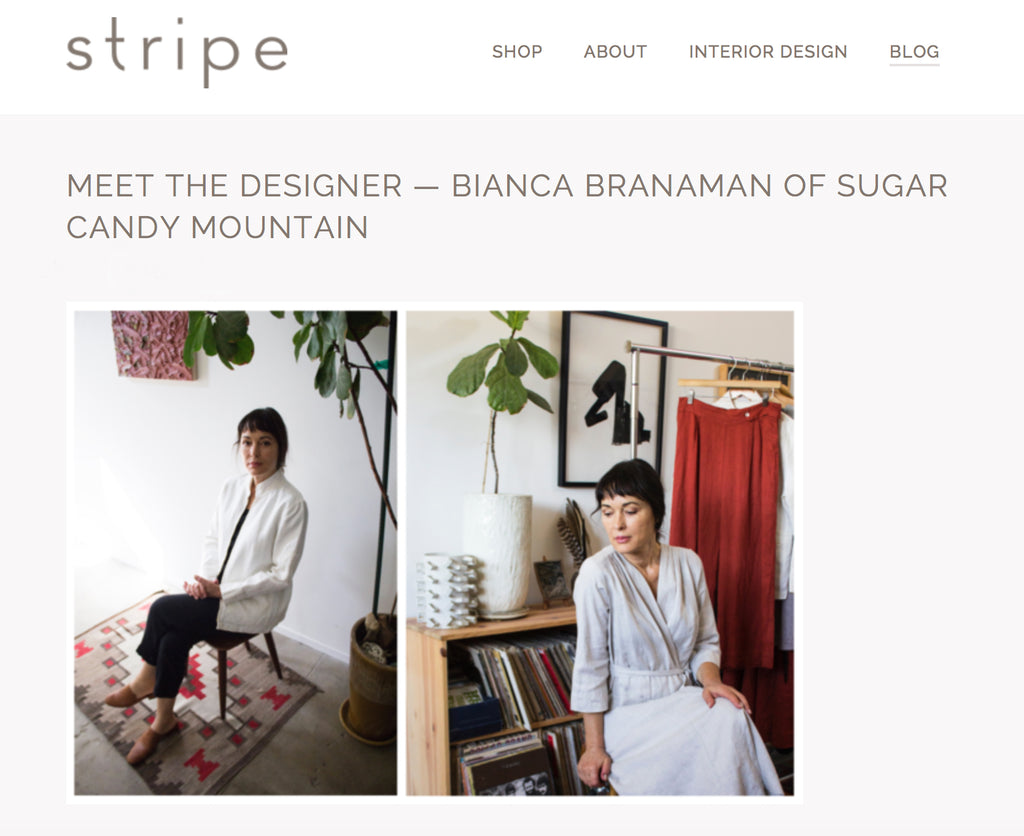 STRIPE, SANTA CRUZ - MEET THE DESIGNER