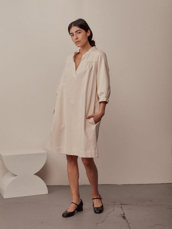 The Sabine Dress | Natural