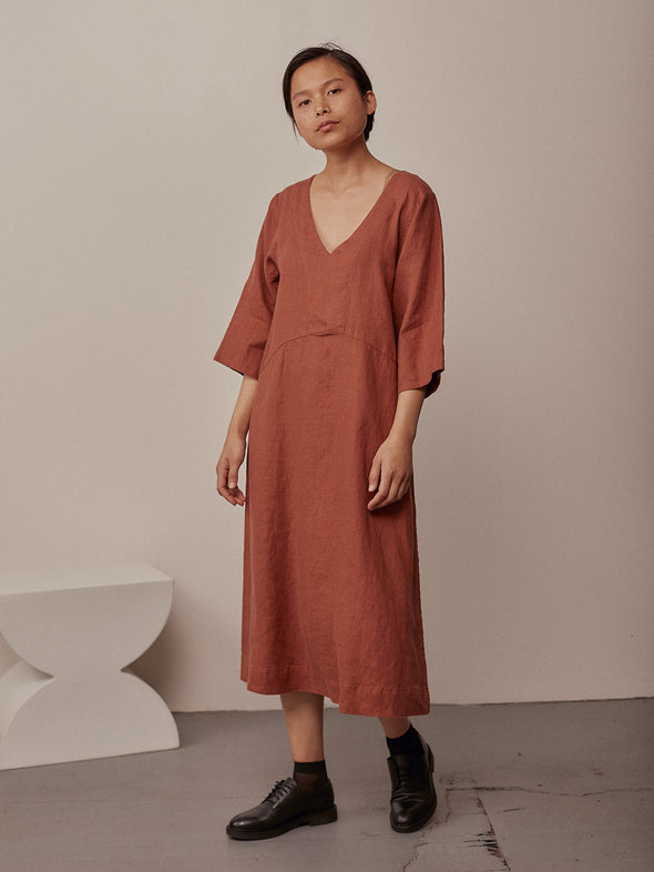 Luca Dress | Redwood
