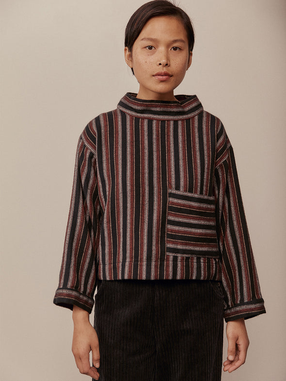 Mila Top | Roma Stripe