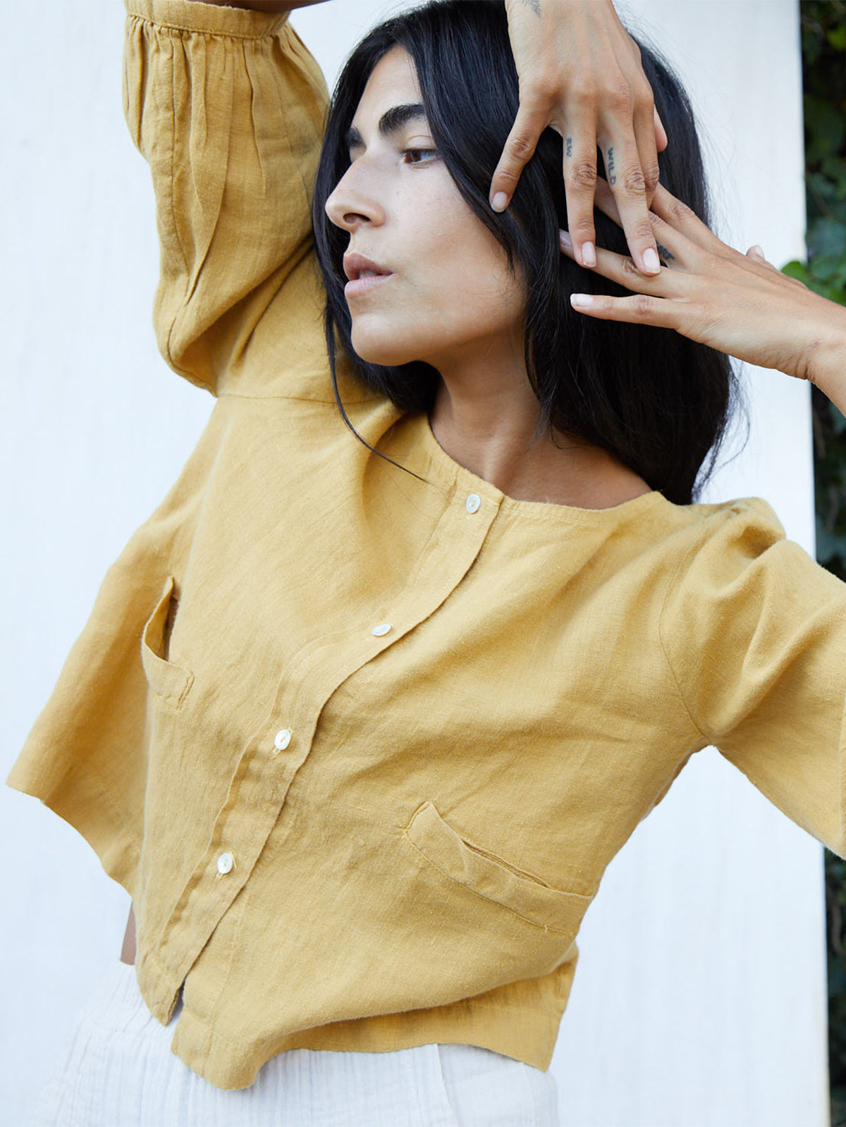 The Daisy Top | Mustard