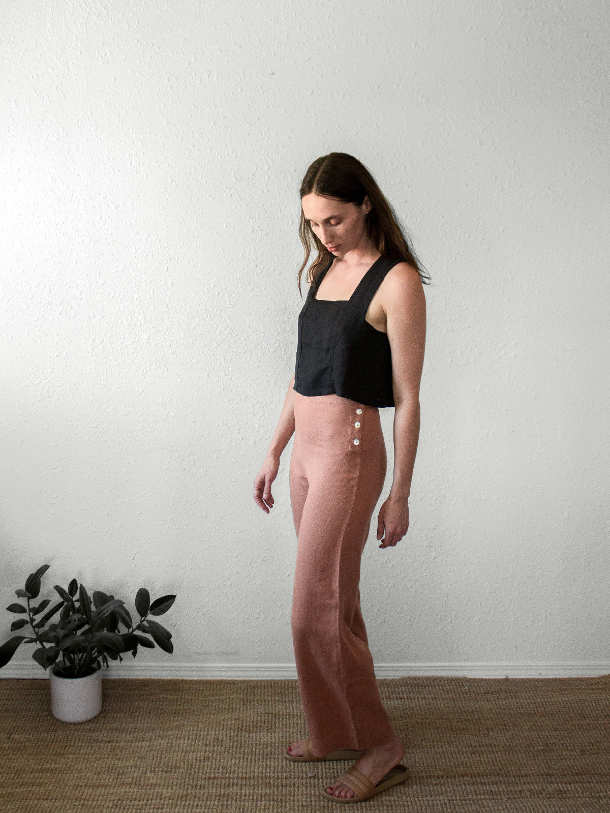 The Calla Pant | Clay