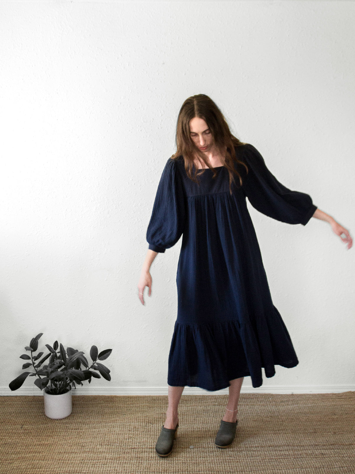 The Nepenthe Dress | Navy