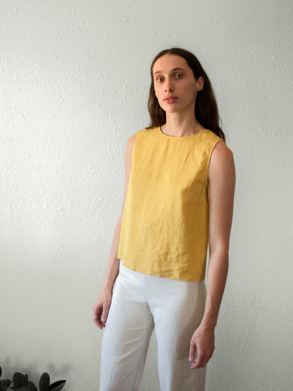 The Buttercup Top | Mustard