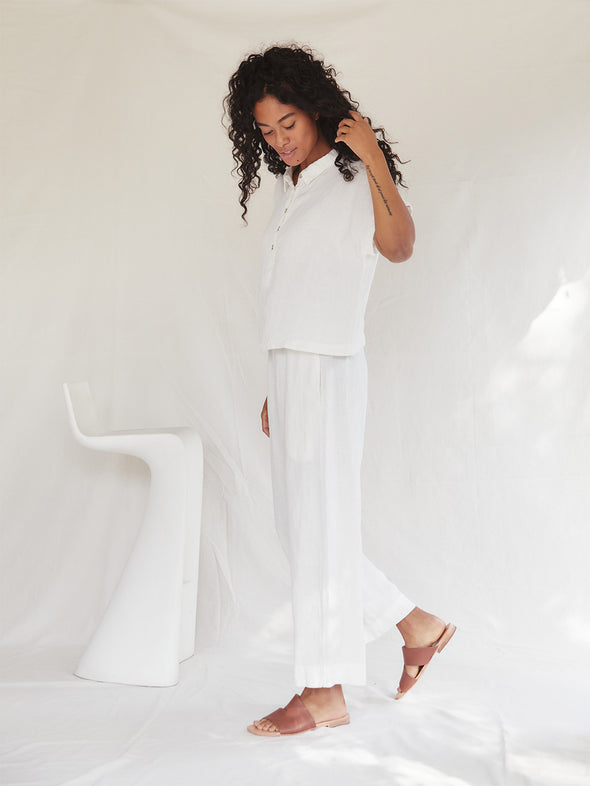 The Topaz Pants | Ivory