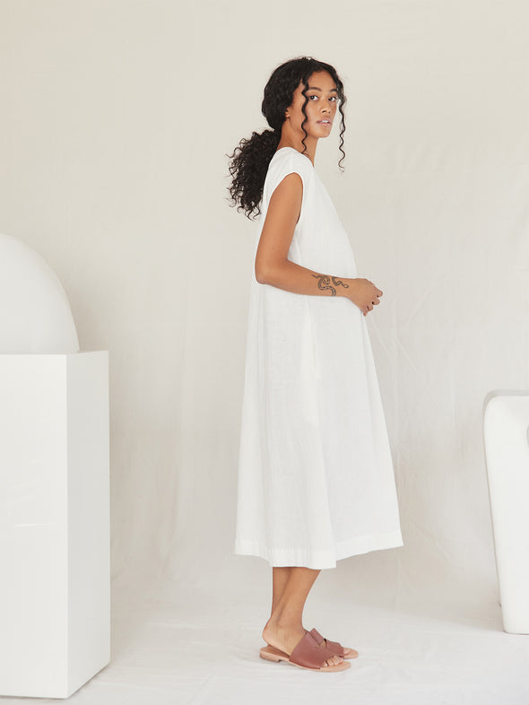 The Berda Dress | Ivory