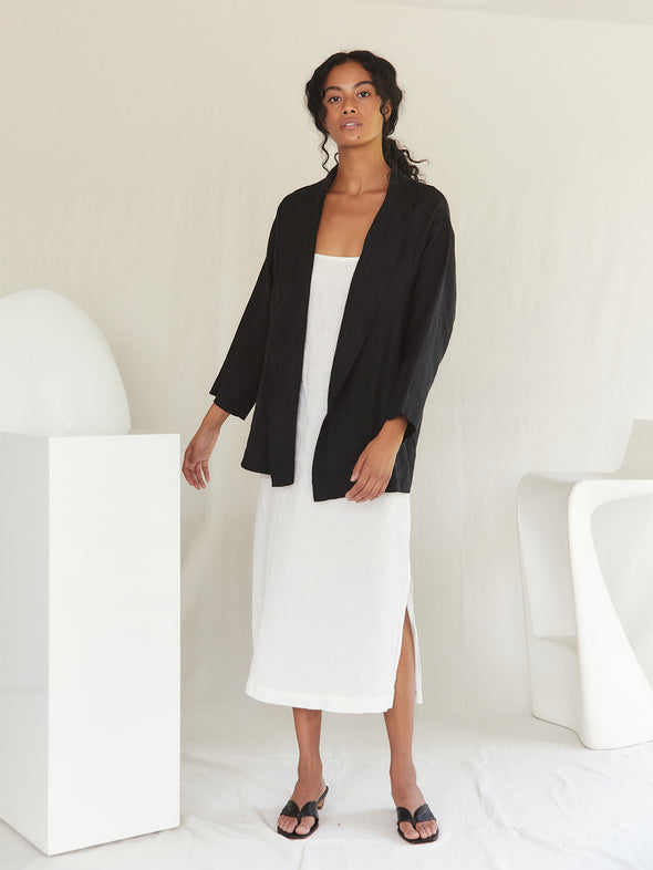 The Nettles Coat | Black