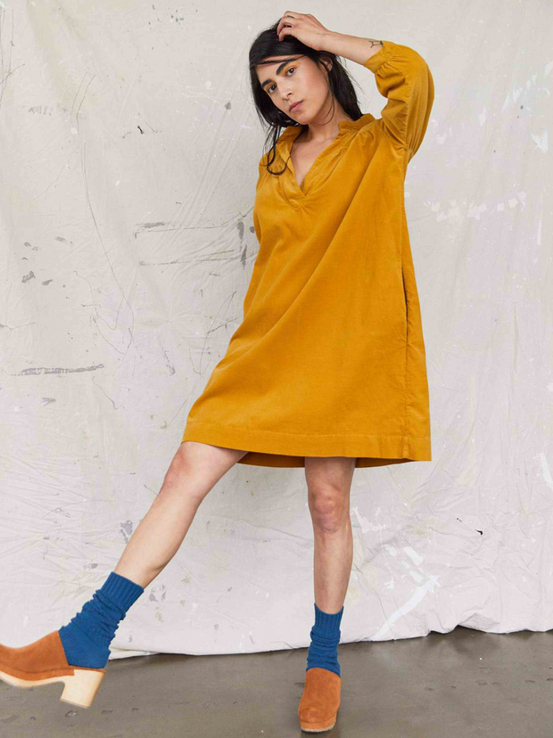 The Sabine Dress | Turmeric