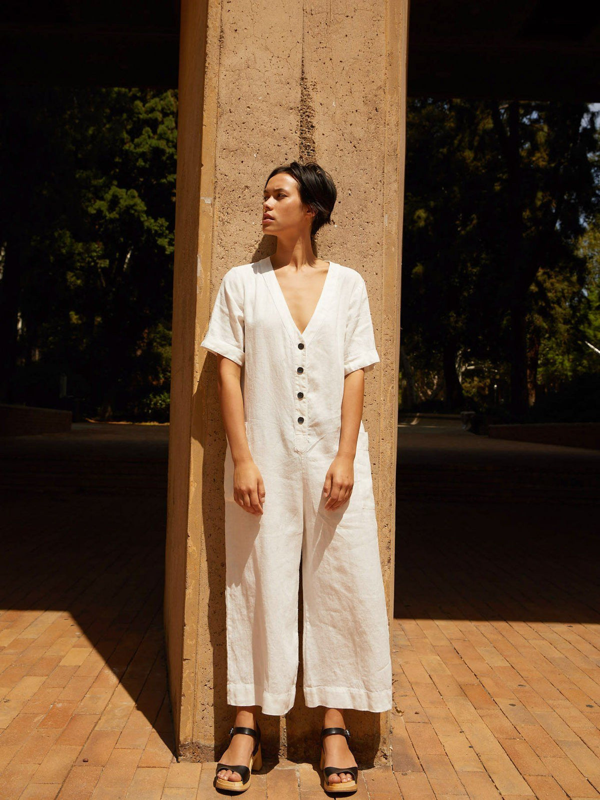 The Sunflower Jumpsuit | IvoryJumpsuits - sugarcandymtn.com