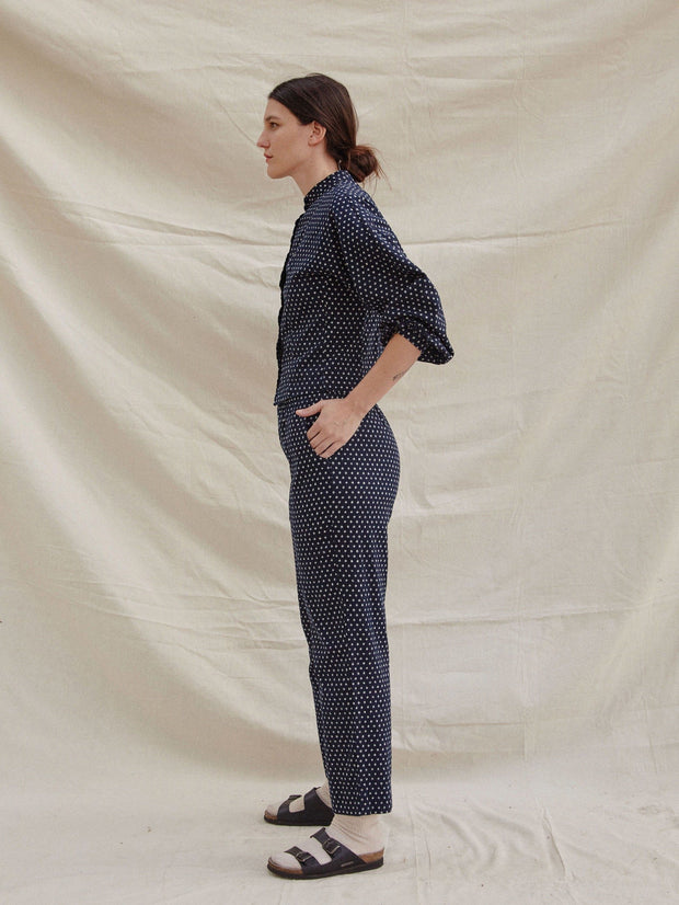 The Karen Pant- IndigoPants - sugarcandymtn.com