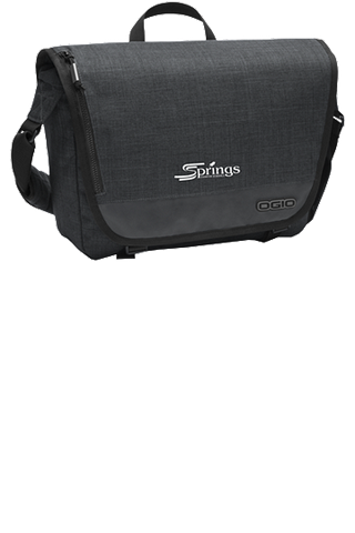 "OGIO® Sly Messenger fits most 13"" laptops"