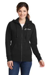 Ladies Zip-up Fleece/Sweatshirts