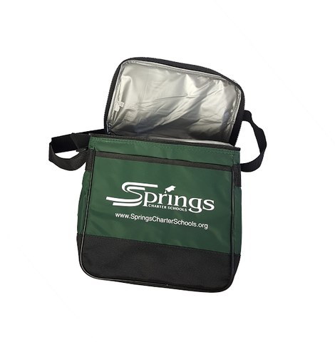Springs Green Insulated Cooler Bag
