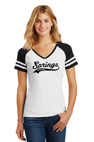 Womens T-Shirt V-Neck Sport