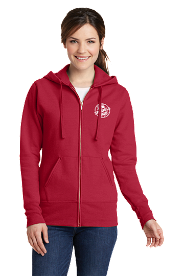 Womens Zip-Up Hoodie