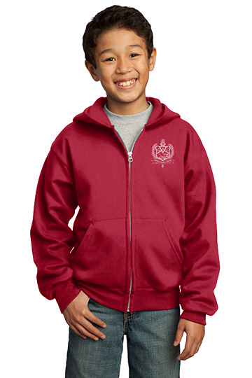 Youth Hoodie Zip-Up