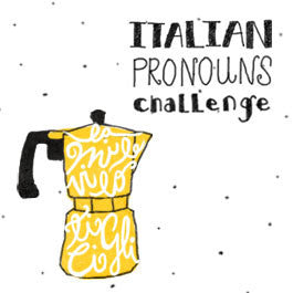 10 Day Italian Pronouns Challenge