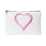 Heart (6) Accessory Pouch - Picsia Clothing and More