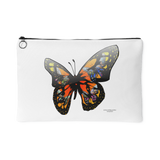 Butterfly Design Graphic Printed Accessory Pouch - Picsia Clothing and More