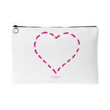 Heart (4) Design Graphic Printed Accessory Pouch - Picsia Clothing and More