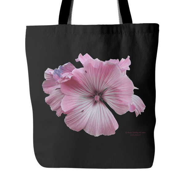 Mallow 18 x 18 tote bag 100% spun polyester poplin fabric - Picsia Clothing and More