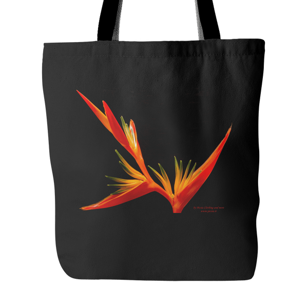 Blossom 18 x 18 Design Graphic Printed Tote Bag 100% Spun Polyester Poplin Fabric - Picsia Clothing and More