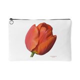 Tulip Design Graphic Printed Accessory Pouch - Picsia Clothing and More