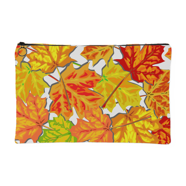 Autumn Design Graphic Printed Accessory Pouch - Picsia Clothing and More