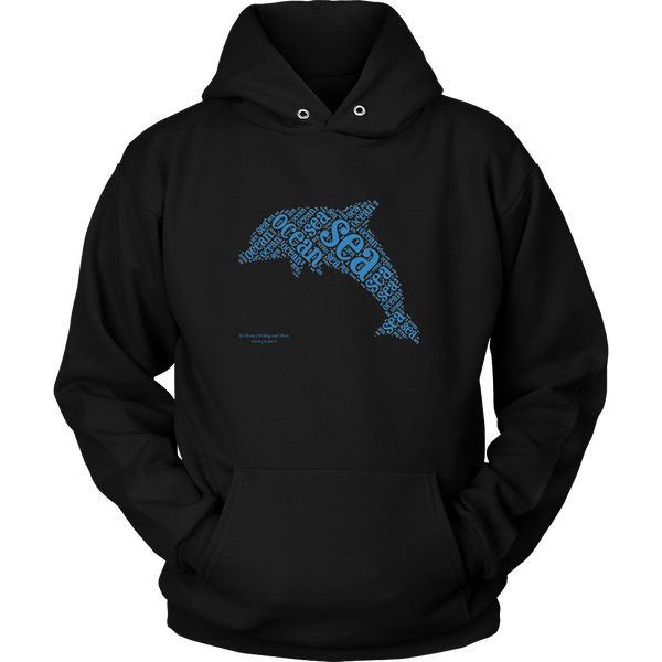 Dolphin Unisex Hoodie - Picsia Clothing and More