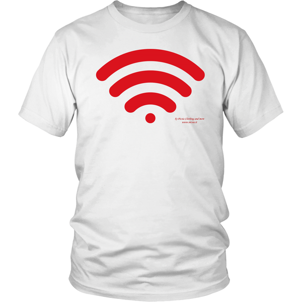 Wireless Design Graphic Printed District Unisex Shirt Casual Tee T-shirt - Picsia Clothing and More