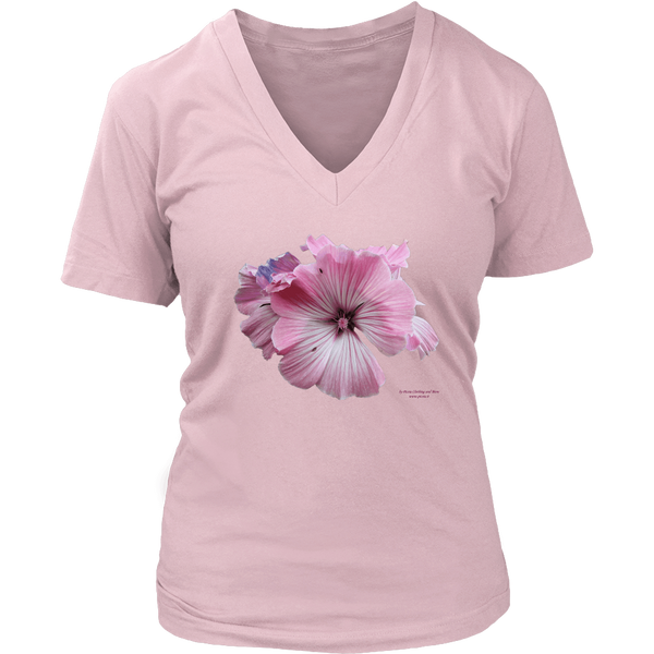 Mallow District Women's V-Neck - Picsia Clothing and More