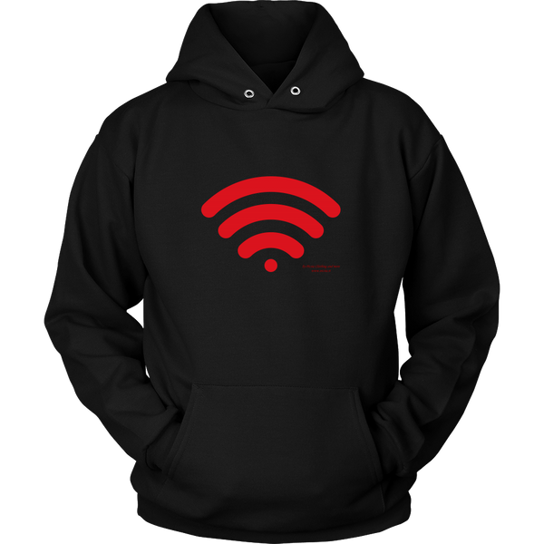 Wireless Unisex Hoodie - Picsia Clothing and More