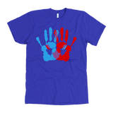 Ambidextrie Hands American Apparel Men's T-shirt Short Sleeve - Picsia Clothing and More