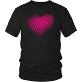 Heart (3) District Unisex Shirt - Picsia Clothing and More