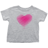 Heart (3) Toddler T-Shirt - Picsia Clothing and More