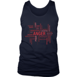 Anger District Men's Tank - Picsia Clothing and More