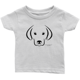 Dog Infant T-Shirt - Picsia Clothing and More