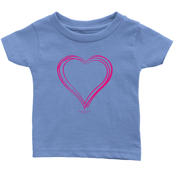 Heart (6) Infant T-Shirt - Picsia Clothing and More