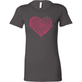 Heart (5) Bella Women's Shirt - Picsia Clothing and More