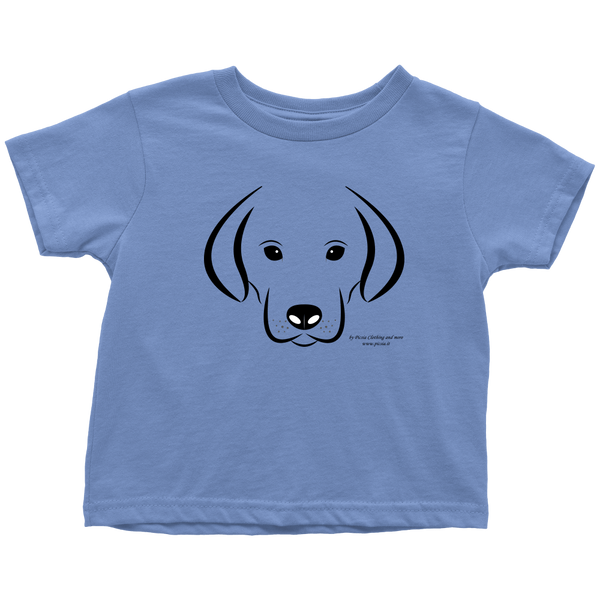 Dog Design Graphic Printed Toddler T-Shirt Casual Tee Shirt - Picsia Clothing and More