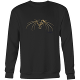 Dragon Crewneck Sweatshirt - Picsia Clothing and More