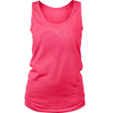 Heart (5) District Women's Tank - Picsia Clothing and More