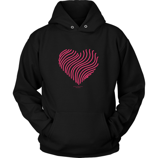 Heart (5) Design Graphic Printed Unisex Hoodie Casual - Picsia Clothing and More